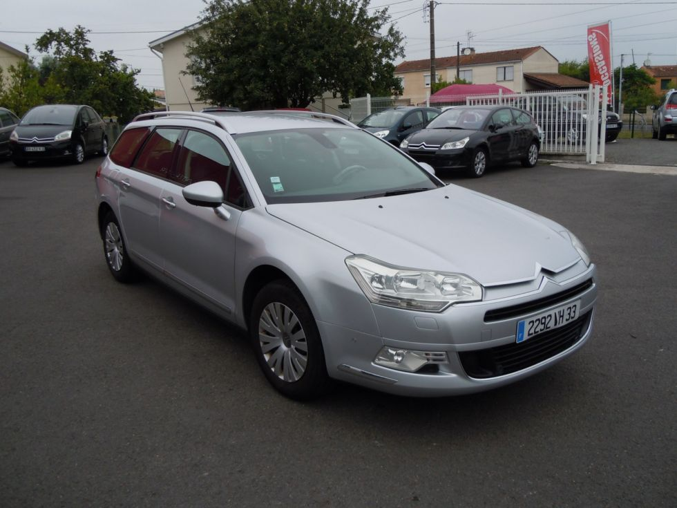 occasion citroen c5 break tourer  u00e0 bordeaux